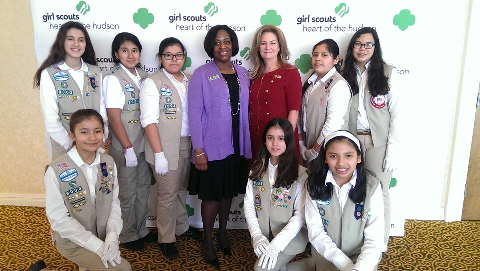 County Executive MaryEllen Odell was the keynote speaker at the Girl Scouts Heart of the Hudson Annual Community Partnership Luncheon