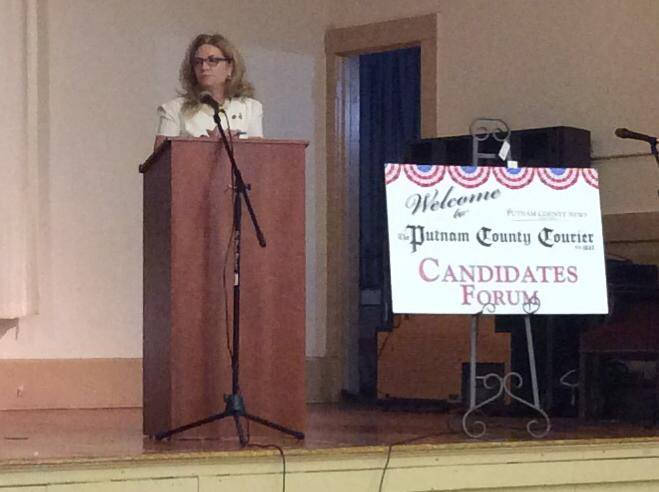 MaryEllen Promotes Her Accomplishments at the PCNR & Courier Candidate Forum