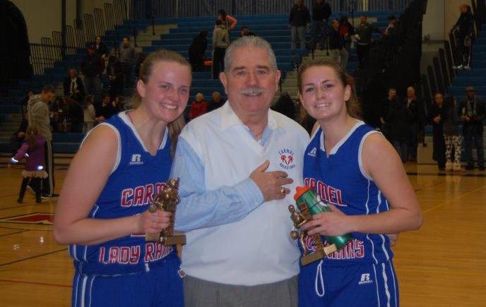 Coach Dan O'Hare Celebrates 200th Girls Basketball Win