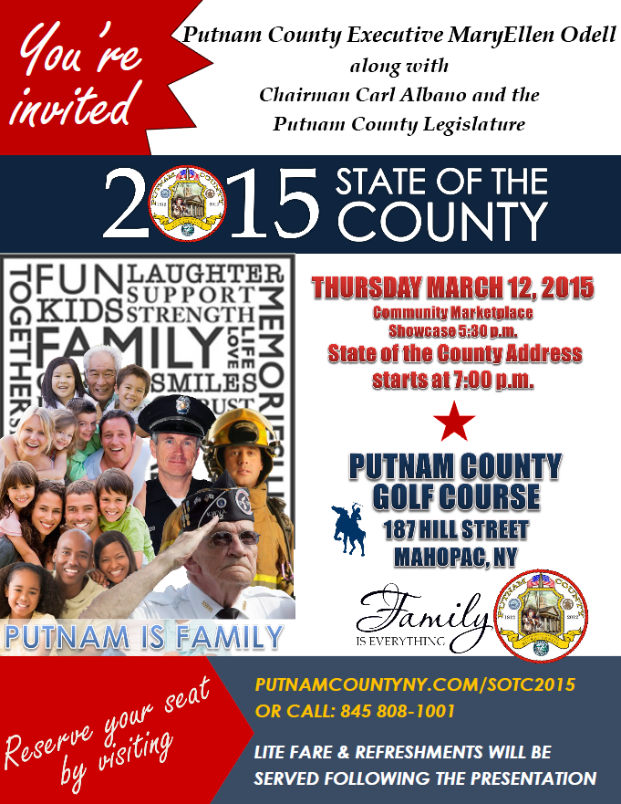 State of the County Address Set for March 12