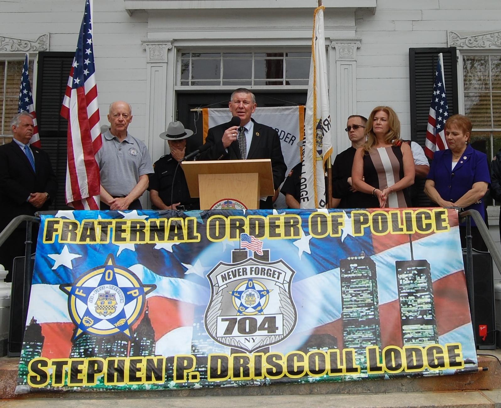 Putnam County Fallen Hero Vigil Honoring NYPD Officer Brian Moore