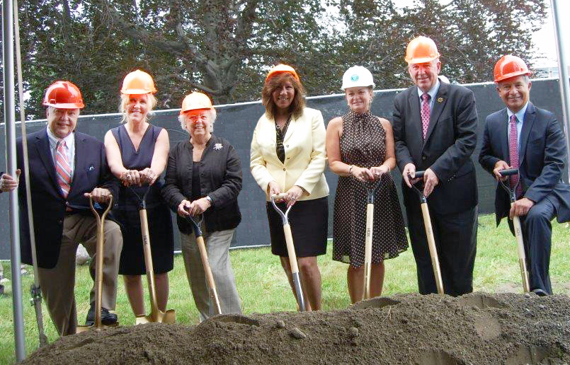 Groundbreaking Ceremony Held for Roger Ailes Senior Center in Cold Spring at Butterfield