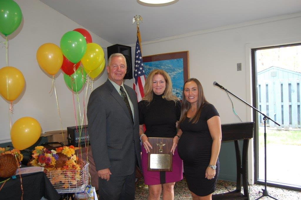 County Executive MaryEllen Odell honored with the Bronze Key Award