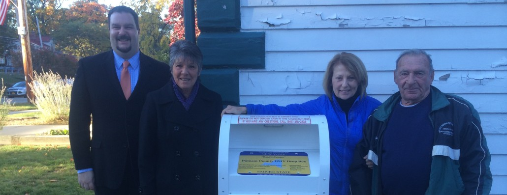 Putnam DMV Drop Box Installed in Philipstown