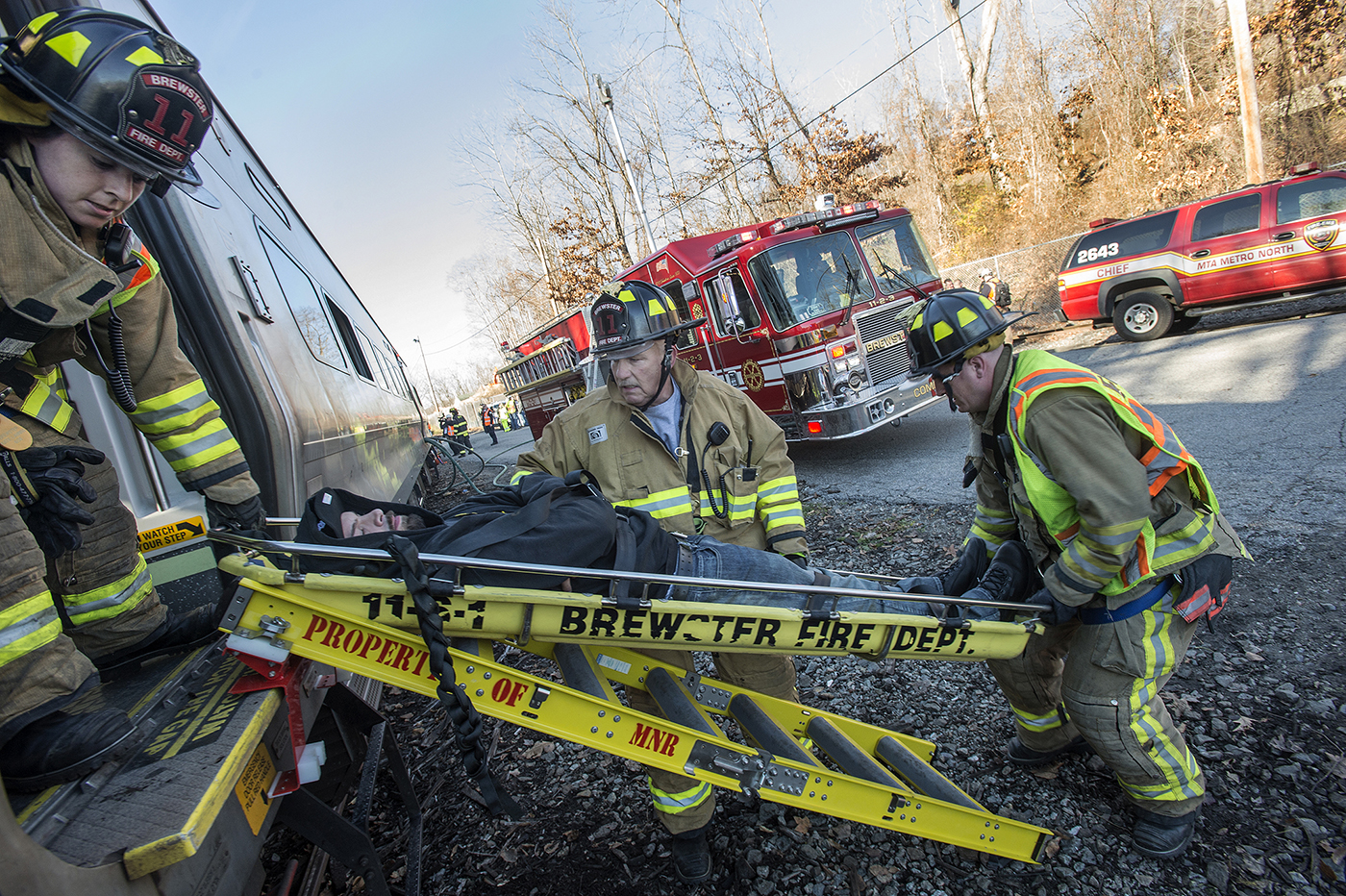 Putnam First Responders Conduct Emergency Exercise with Metro-North