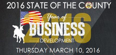 Odell's State of the County Address set for March 10