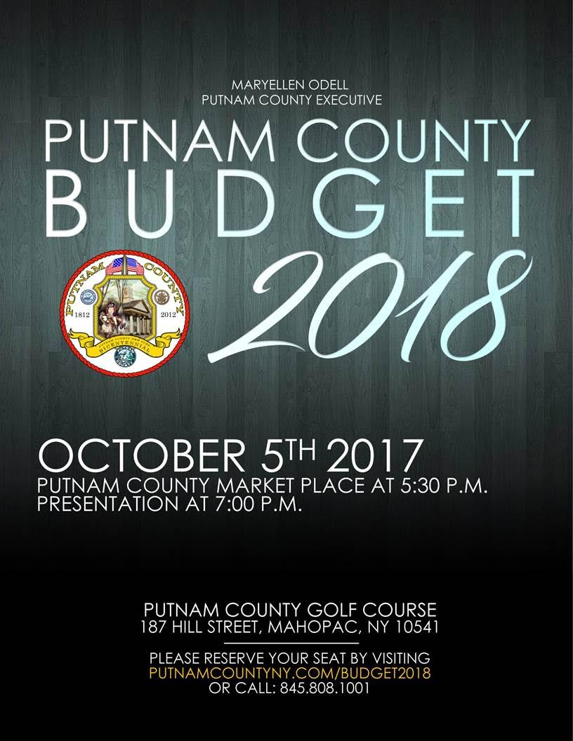 Reserve Your Seat for the 2018 Budget Address
