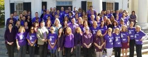 Putnam County Government raises over $600 for Domestic Violence Awareness