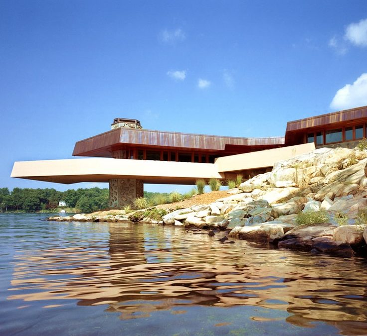 Join us for a tour of the Frank Lloyd Wright House on Petra Island, Mahopac