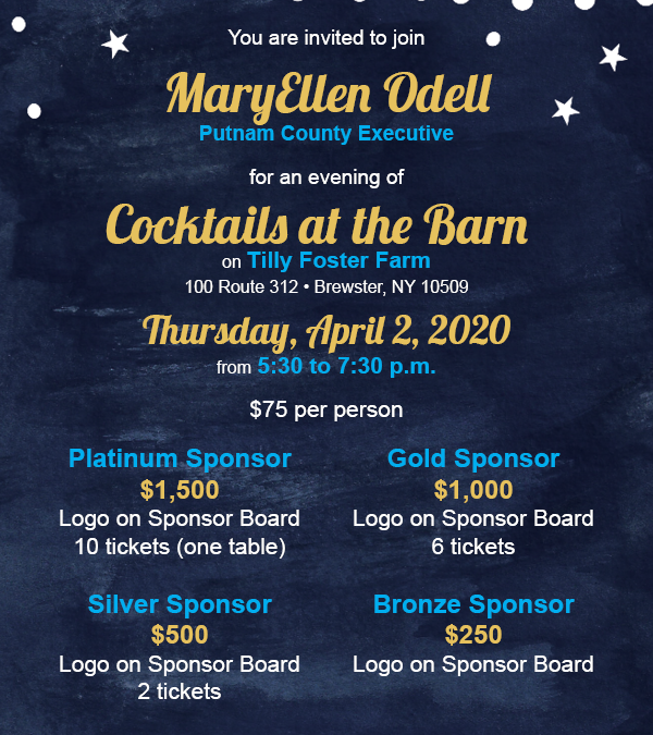 You're Invited to Cocktails at the Barn